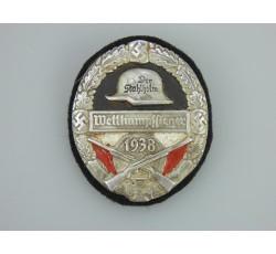 Der Stahlhelm Arm Shield Wettkampfieger 1938