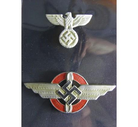 Diplomatic Korps Visor Cap Badges