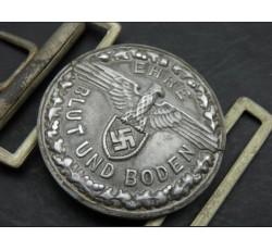 WW2 CROATIA WAFFEN SS OFFICER'S BELT BUCKLE