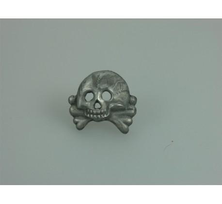 Waffen SS Totenkopf Mütze Abzeichen