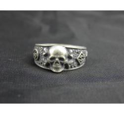 Waffen SS Death Head Runes War Ring