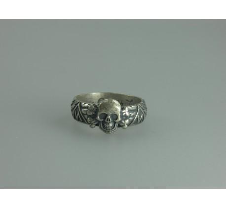 Waffen SS Runes Silver Ring